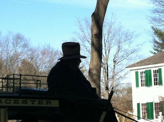 Old Sturbridge Village: The stagecoach driver