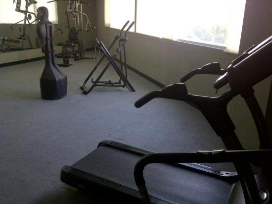 Twin Hotel: Fitness area