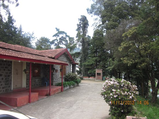 TTDC Hotel Tamilnadu Kodaikanal : The B Cottage block. An old English style building