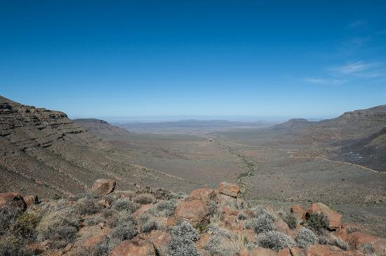 Tankwa Karoo National Park: View from Gannaga pass