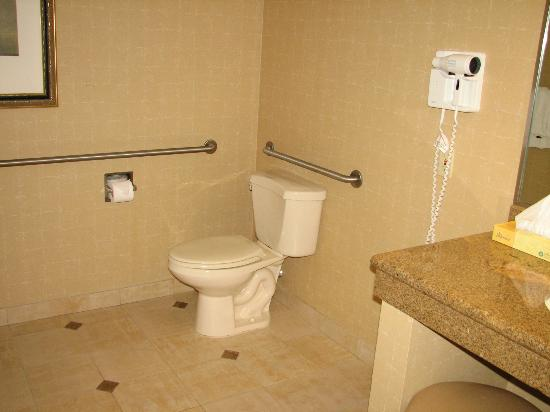 Horseshoe Casino and Hotel : Handicapped Accessible bathroom, Room 1314 I think