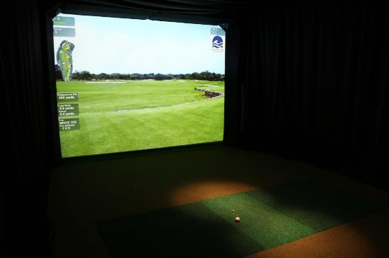 Stars Inn and Suites : virtual golf