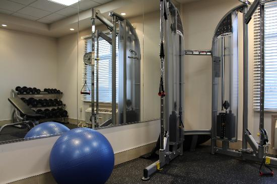 Stars Inn and Suites : fitness area