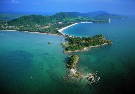 Crown Lanta Resort & Spa: Bird Eye View