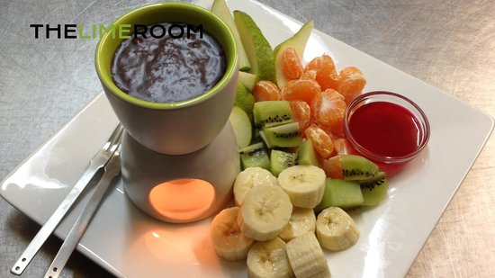 ‪‪The Lime Room‬: Chocolate Fondue (No longer available)‬