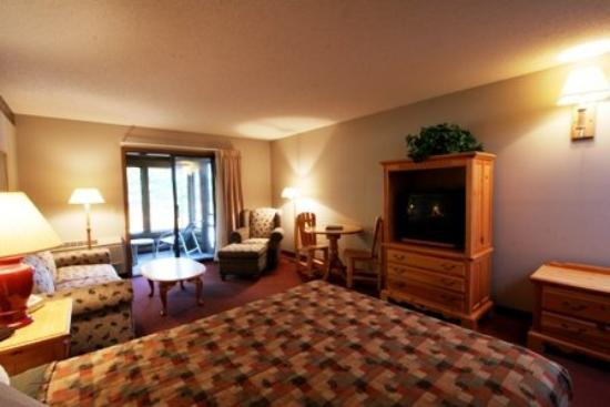 ‪‪Ruttger's Bay Lake Lodge‬: Lodge Guest Room‬