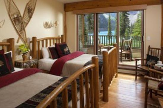 Moraine Lake Lodge: Doubleroomsml