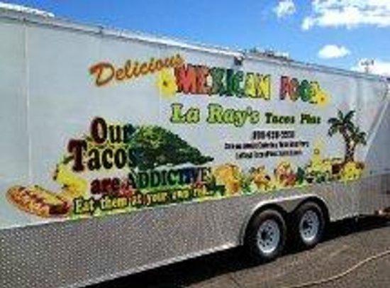 La Ray's Tacos Plus: Taco Truck 11-28-12