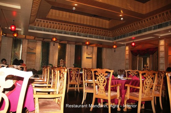The Mandarin: Inside Mandarin Restaurant