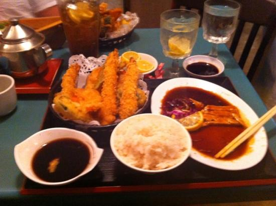Sushi Nami Japanese Restaurant: second part of my dinner order. a lot of food!