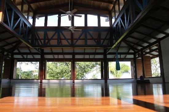 Blue Osa Yoga Retreat and Spa: Yoga studio