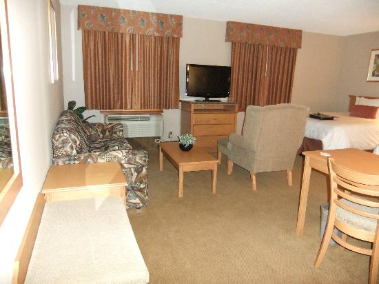 Humphry Inn & Suites: Lots of furniture