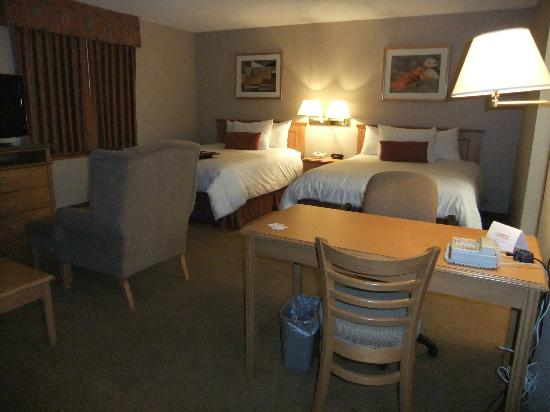 Humphry Inn & Suites: Very large room
