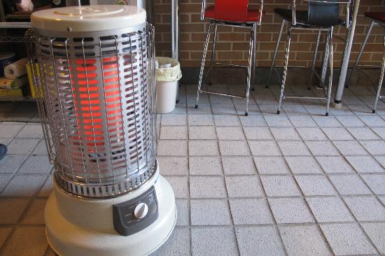 J-Honor Guesthouse: heater