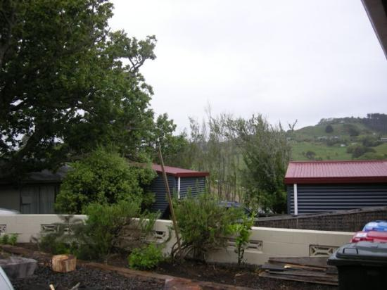 Raglan Farmstay: The cabins are little, cute and new.