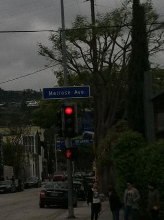 West Hollywood, CA: melrose ave