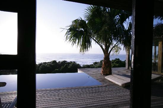 Days At Sea Beach Lodge: View from  inside Villa