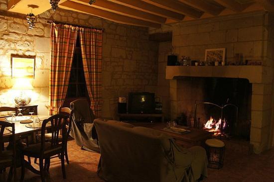 La Cotiniere Chambres d'hotes et gite: Гостиная