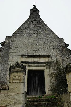 La Cotiniere Chambres d'hotes et Gîtes en Val de Loire: Заброшенная часовня