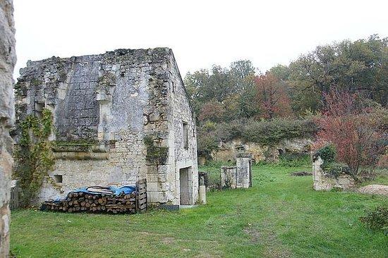 La Cotiniere Chambres d'hotes et Gîtes en Val de Loire: Развалины крепостных стен