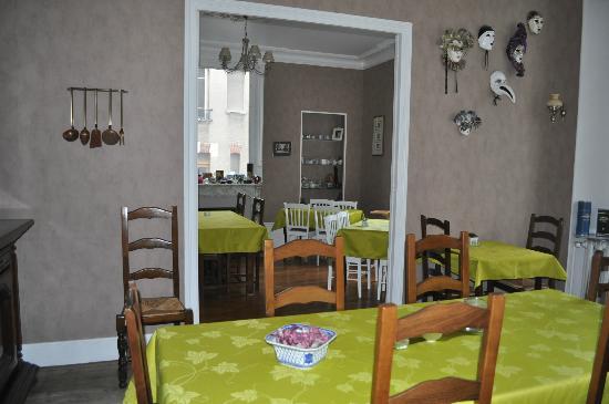 La Villa Saint Pierre: Salle à manger