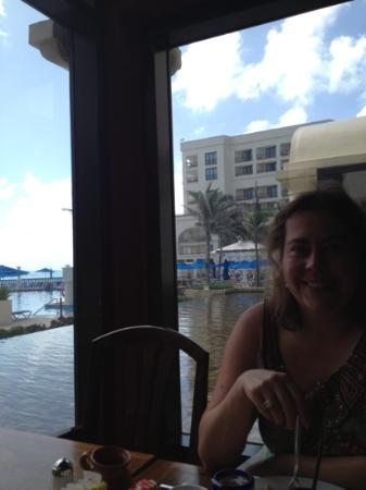 Marriott Cancun Resort : breakfast