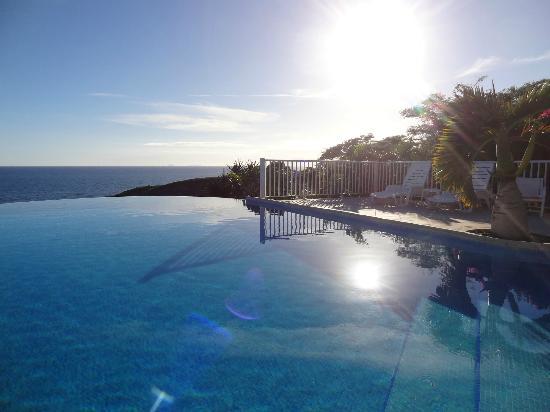 Hotel Amaudo: La piscine