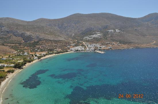 Aegialis Hotel & Spa: Η παραλία της Αιγειαλίδας