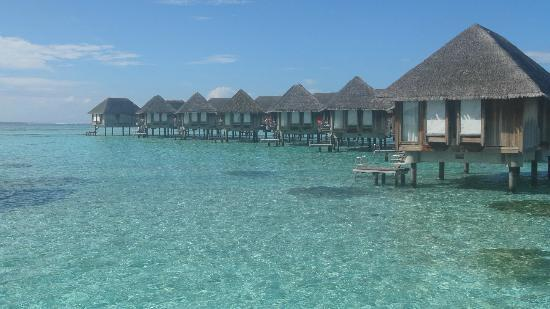 Club Med Kani: Over water bungalows