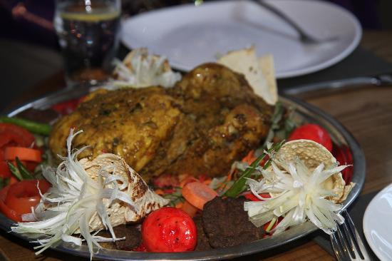Chilli Bar & Kitchen: Special Dish compliments of the Chef
