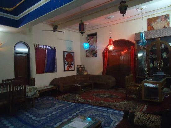 KS Palace: Reception area
