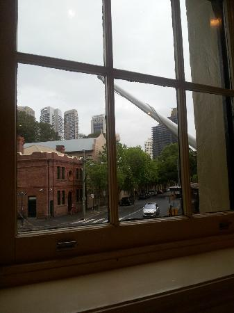The Lord Nelson Brewery Hotel: View from one Window