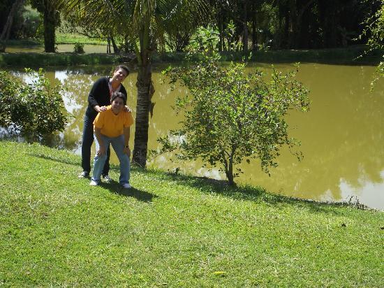 Hotel Fazenda Boa Vista: Lago para pesca
