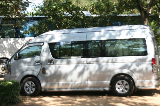 Bangkok Asia Travel - Day Tours: VIP Van with experienced driver to care us during tour to Tiger Temple Tour