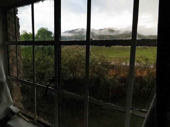 Sani Lodge Backpackers: View from the dorm window