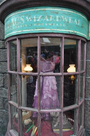The Wizarding World of Harry Potter: Hermione's ball dress.