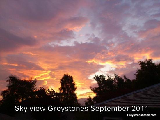 Greystones B&B: Bedroom view 2008