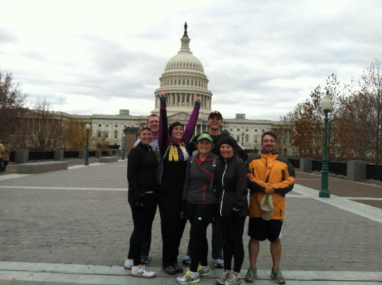 City Running Tours: DC Mall 10K Running Tour 11/24/2012