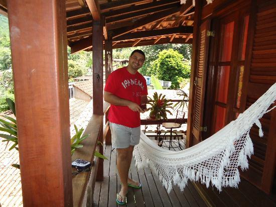 Pousada Riacho dos Cambucas: Foto da varanda da suíte nº.09
