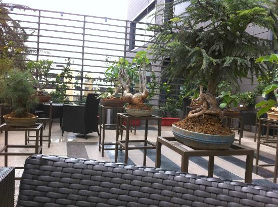 Movenpick Hotel & Spa Bangalore: outdoors coffee area