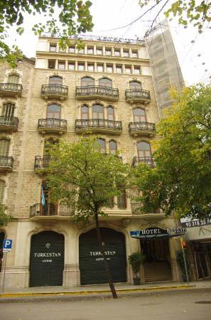 Hotel HCC Regente: Het gebouw