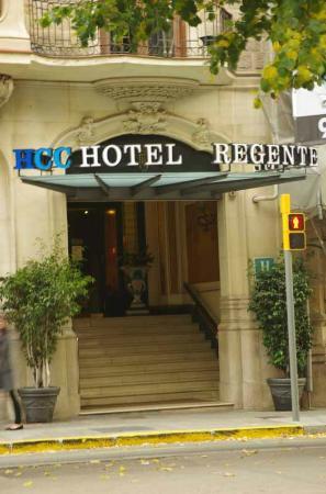 Hotel HCC Regente: Entree van het hotel