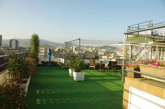 Hotel HCC Regente: Dakterras