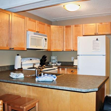 Panorama Springs Lodge : Panorama Kitchen Bd