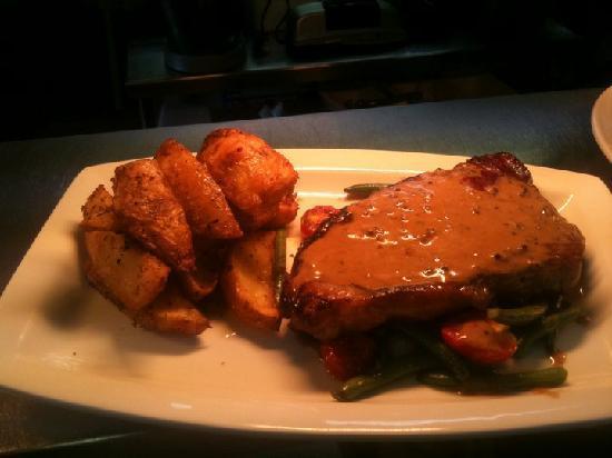 Restaurant at Harry's Aberystwyth: Steak