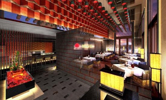 เดอะลีลา พาเลซ นิวเดลี: Megu Restaurant