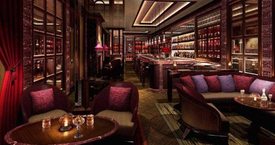 The Leela Palace New Delhi: Library Bar