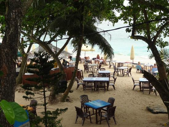 Tartaruga Hotel & Beach Restaurant : beach restaurant in the early morning
