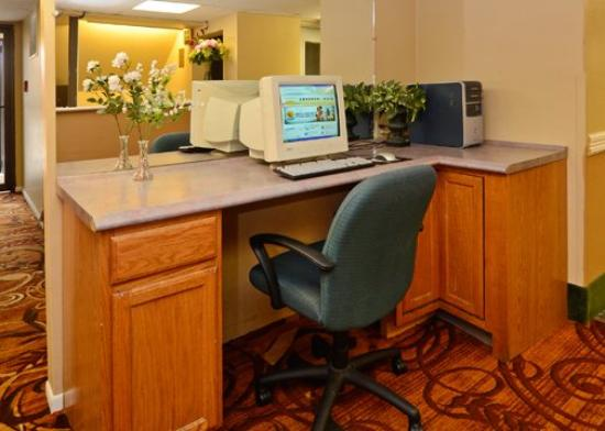 Riverside Suites Mankato: Business area