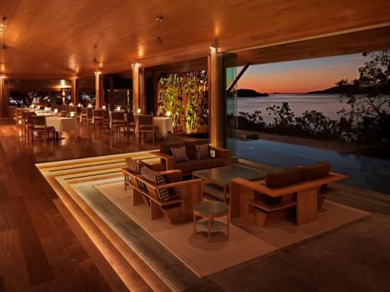 Qualia Resort: Qualia Long Pavilion Lounge Restaurant HR